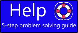Help: A 5-step problem solving guide